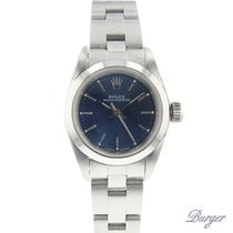Rolex Oyster Perpetual Steel 25mm Blue