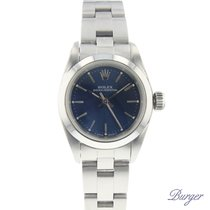 Rolex Oyster Perpetual Lady Blue Dial