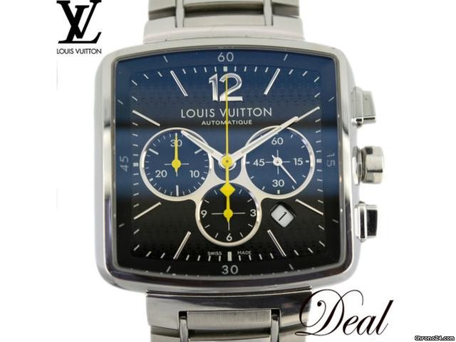 Louis Vuitton ルイヴィトン スピーディー クロノ Q212G 自動巻 メンズ 腕時計