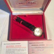 Universal Genève Gulguld 33mm 10376-1 begagnad Sverige, Stockholm