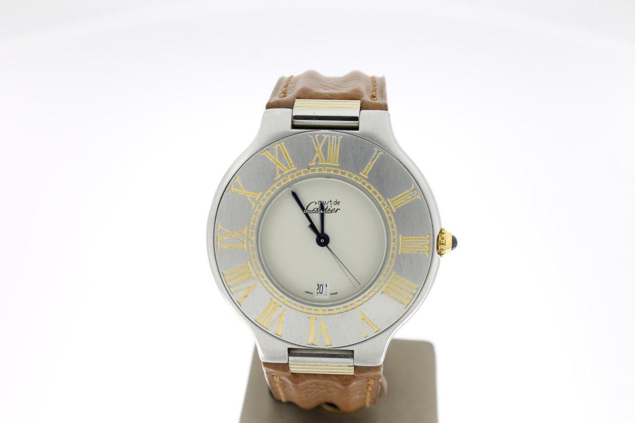 376aff18384 Cartier 21 Must de Cartier - Todos os preços de relógios Cartier 21 Must de  Cartier na Chrono24