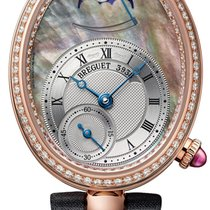 Breguet Reine de Naples Rose gold 28mm Mother of pearl Roman numerals United States of America, New York, New York