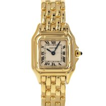 Cartier Panthère Yellow gold 22mm White Roman numerals United States of America, Maryland, Baltimore, MD