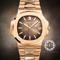 Patek Philippe Nautilus 5711/1R-001 Ubrugt Rosa guld 40mm Automatisk
