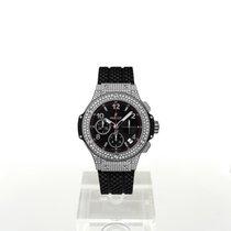 Hublot Big Bang 41 mm neu Automatik Chronograph Uhr mit Original-Box und Original-Papieren 341.SX.130.RX.174