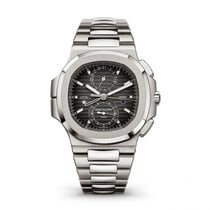 Patek Philippe pre-owned Automatic 40.5mm Black Sapphire Glass 10 ATM