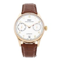 IWC Portuguese Automatic Rose gold 42.3mm Silver Arabic numerals United States of America, Pennsylvania, Bala Cynwyd