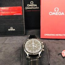 Omega Steel Manual winding Black No numerals 42mm new Speedmaster Professional Moonwatch