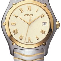 Ebel Classic Steel 37mm Silver Roman numerals United States of America, New York, New York