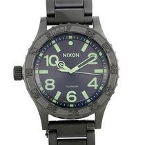 Nixon Titanium 51mm Quartz A351-1418 new
