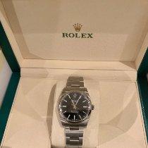 Rolex Oyster Perpetual 34 Acero 34mm Negro Sin cifras España, toledo