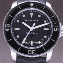 Blancpain Fifty Fathoms Steel 45mm Black Arabic numerals United Kingdom, London, Paris, Barcelona, and Brussels face to face delivery only - Other countries shipping with Brinks and DHL Express