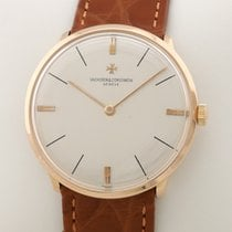 Vacheron Constantin Red gold Manual winding 33,5mm pre-owned Patrimony