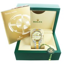 Rolex 116333 41mm Datejust II Ivory Stick Dial Box & Papers