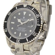 Rolex Used 16610_Skull_Edition Steel Submariner with Date -...