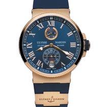 Ulysse Nardin 43mm Automatyczny 2019 nowość Marine Chronometer Manufacture Niebieski