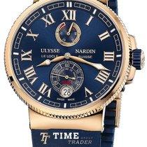 Ulysse Nardin Marine Chronometer Manufacture 1186-126-3/43 2020 new