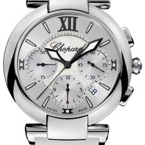 Chopard Imperiale Chrono Stainless Steel & Amethyst Ladies...