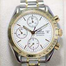 Omega Speedmaster Date Chronograph Steel & Gold
