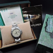 Rolex EXPLORER 2 16550 Creamy Rail Dial with Box and Paper