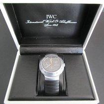 IWC Aluminium Automatik Schwarz 41mm gebraucht Porsche Design
