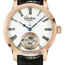 Glashütte Original Senator Meissen Tourbillon Rose gold 40mm White United States of America, New York, Airmont