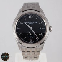 Baume & Mercier Clifton Black Dial Stainless Steel 65717...