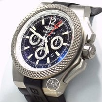 Breitling For Bentley Gmt Eb0432 49mm Titanium Special Edition...