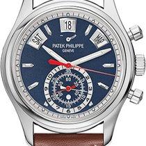 Patek Philippe 5960-01G-001 Oro blanco 2017 Annual Calendar Chronograph nuevo