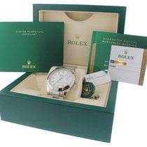 Rolex 2017 Rolex DateJust 41 White Stick 126300 41mm Smooth...