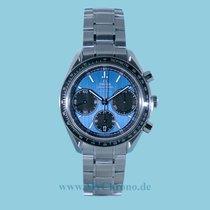 Omega Speedmaster Racing Stahl 40mm Blau Keine Ziffern Deutschland