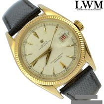 Rolex Datejust Yellow gold 36mm Champagne No numerals