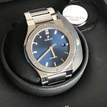Hublot Classic Fusion Blue Titanium Bracelet (Warranty until...