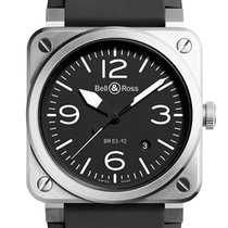 Bell & Ross Steel 42mm Automatic BR0392-B-R new