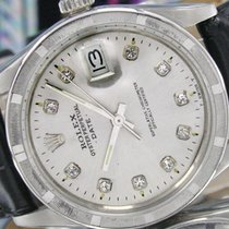 Rolex Oyster Perpetual Date Silver Color Dial Ref: 15000