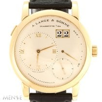 A. Lange & Söhne Lange 1 Yellow gold 38,5mm Silver