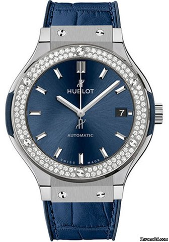 Hublot Classic Fusion Blue 565.NX.7170.LR.1104 2021 neu
