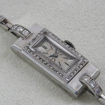 Rolex Prince Platino 11mm Plata Sin cifras