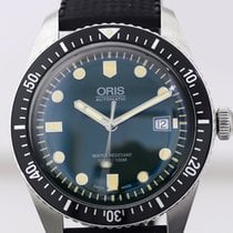 Oris Sixty-Five 65 Automatic 42mm Heritage Green Steel Rubber...