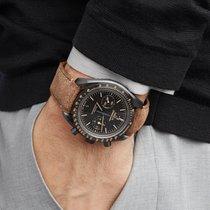 Omega Керамика Автоподзавод Чёрный 44.2mm новые Speedmaster Professional Moonwatch