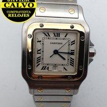 Cartier 29mm Cuarzo usados Santos Galbée