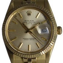 Rolex Oyster Perpetual Date - Ouro 14 K