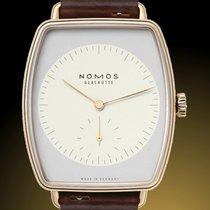 NOMOS Lux Rose gold 34mm White No numerals