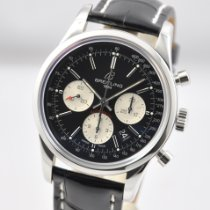 Breitling Transocean Chronograph Steel 43mm Black