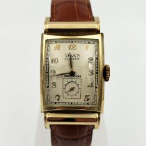 Gruen Gold/Steel 22mm Manual winding Curvex pre-owned