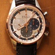 Zenith El Primero Chronomaster 51.2150.400/69.C713 ZENITH El Primero Oro Acciaio 38mm nov