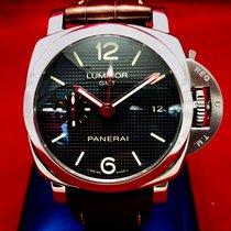 Panerai Luminor 1950 3 Days GMT Automatic Steel 42mm Black Arabic numerals United States of America, New York, New York