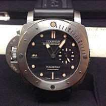 Panerai pre-owned Automatic 44mm Black Sapphire Glass 30 ATM