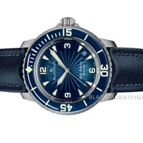Blancpain new Automatic Display Back 45mm Steel Sapphire Glass