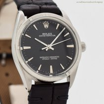 Rolex Oyster Perpetual 34 Steel 34mm Black No numerals United States of America, California, Beverly Hills